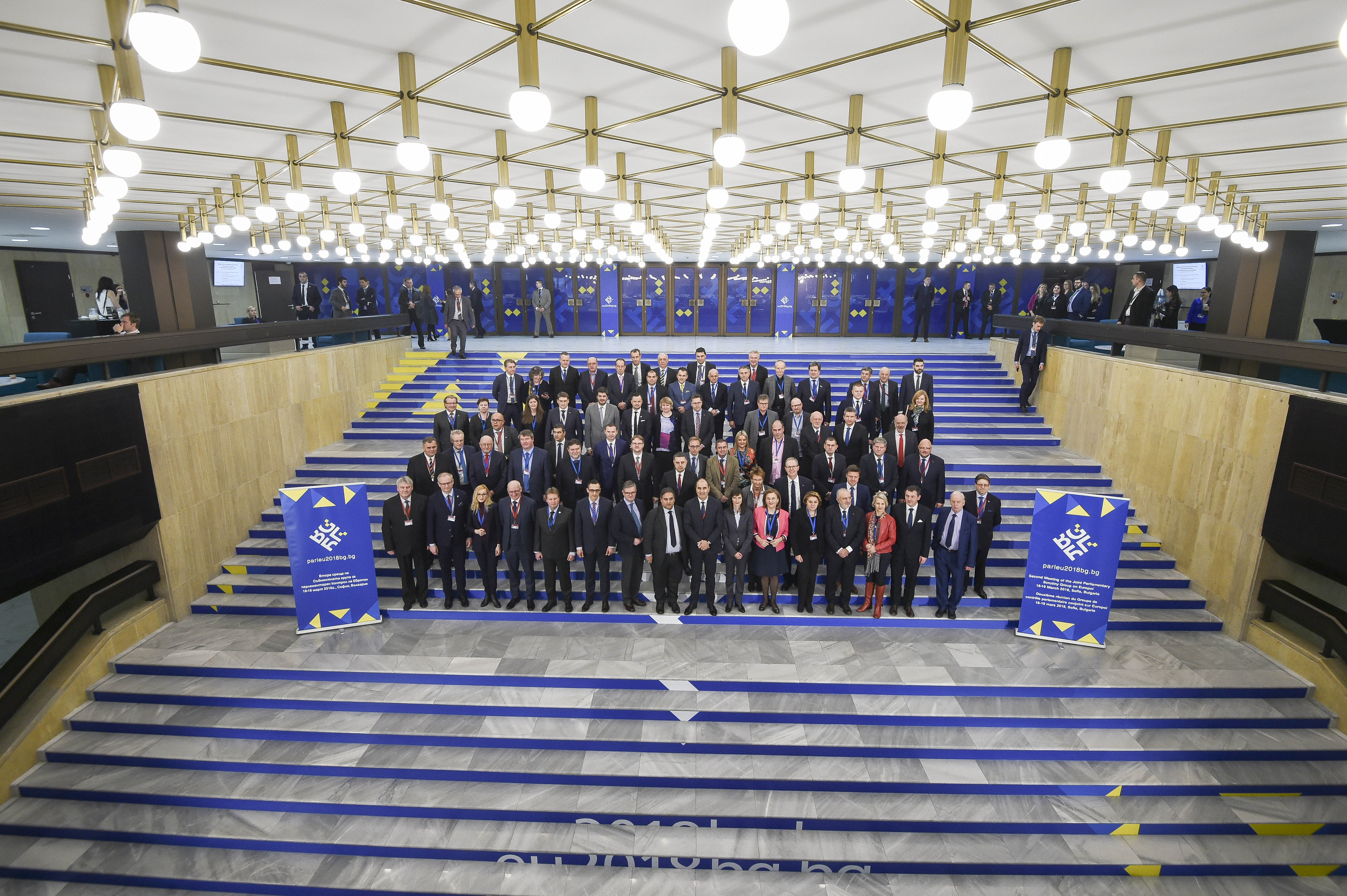 Meeting of the Joint Parliamentary Scrutiny Group on the European Union Agency for Law Enforcement Cooperation (Europol) - Family Photo