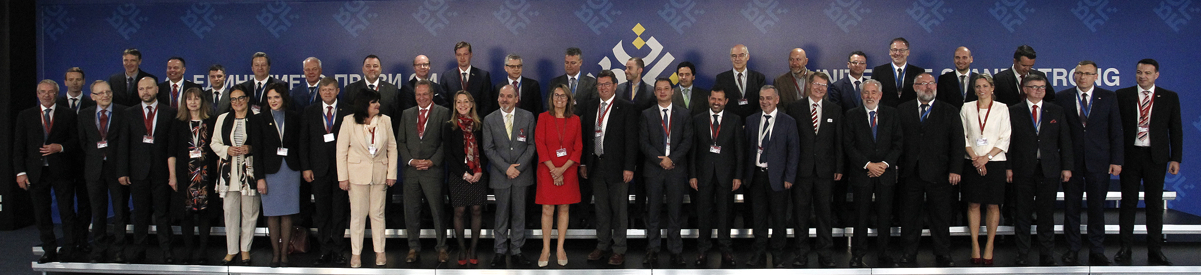 Meeting of the Chairpersons of the Energy committees of the EU parliaments - Family photo