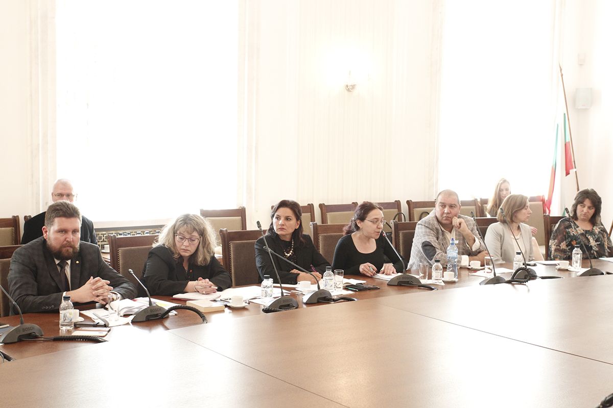 The National Assembly hosted a study visit of officials from the Romanian Parliament's administration