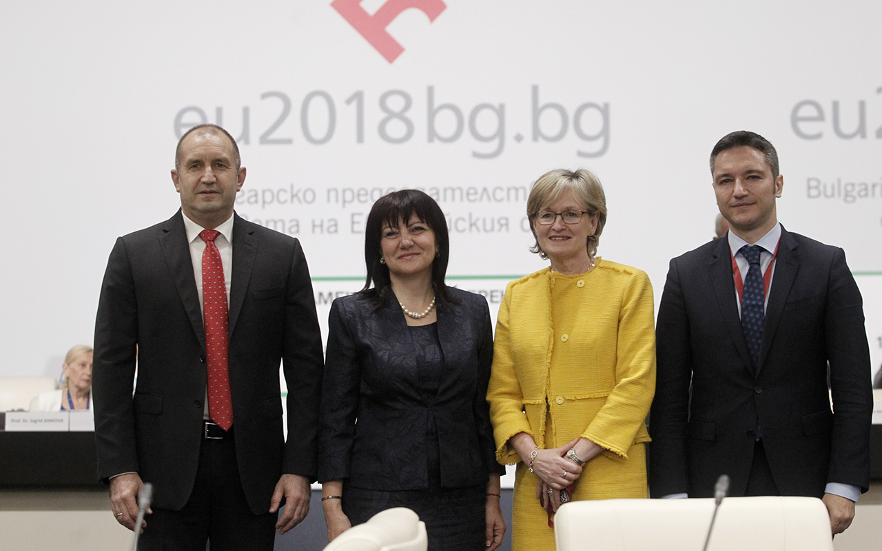 The efforts of the Parliamentary Dimension of the Bulgarian Presidency were aimed at consolidating the EU around common actions for priority policies through effective dialogue, said the President of the Bulgarian Parliament Tsveta Karayancheva, who opened the Conference of the European Affairs Committees of the EU Parliaments