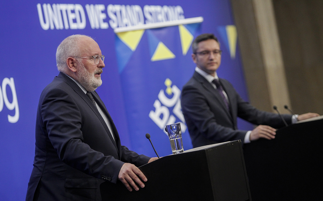 """The Bulgarian Presidency of the Council of the EU and its Parliamentary Dimension are a real success"", pointed out the First Vice-President of the European Commission Frans Timmermans"