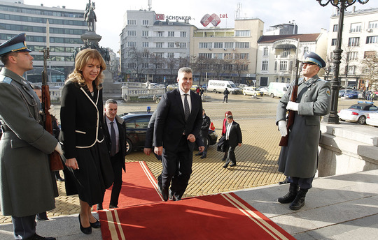 Bulgaria will continue to support Montenegro on is way towards EU membership, says Speaker of Parliament Tsveta Karayancheva at the meeting with President of the Parliament of Montenegro Ivan Brajović