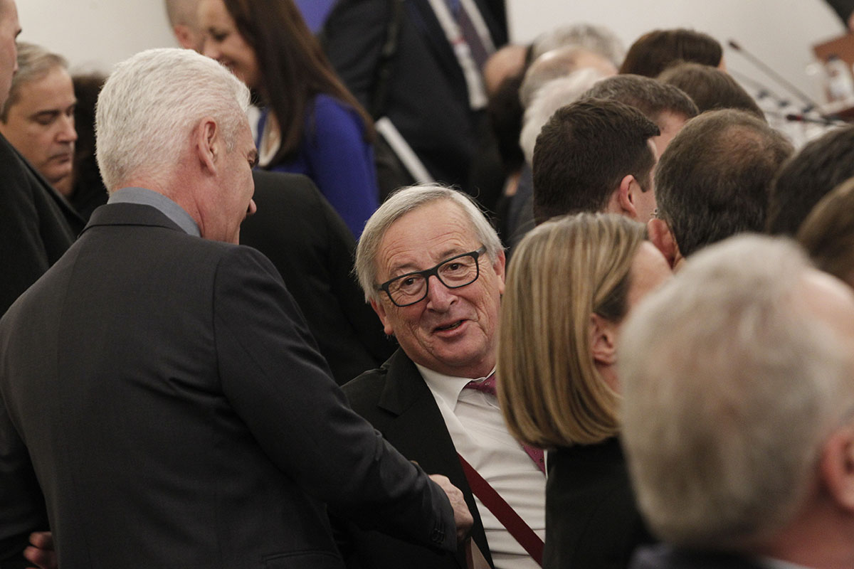 President of the European Commission Jean-Claude Juncker and members of the European Commission had talks with members of the Presidential Council of the National Assembly and chairs of the parliamentary groups and committees